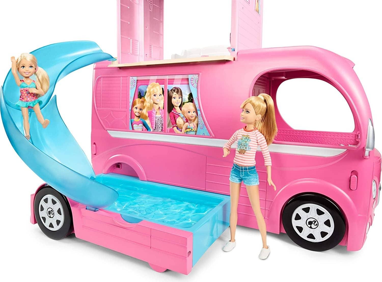 camper Barbie