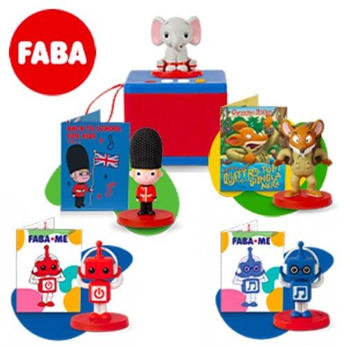 FABA Il tuo Raccontastorie - Starter Set & Personaggi Sonori
