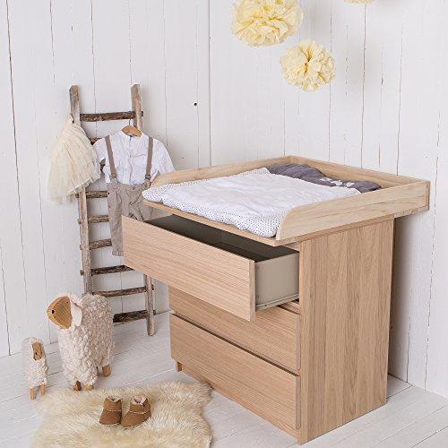 Cassettiera Ikea Con Fasciatoio.Fasciatoio Rialzato In Legno Naturale Mammachetest