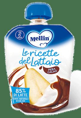 Merenda Le Ricette del Lattaio - Latte, Pera e Cacao