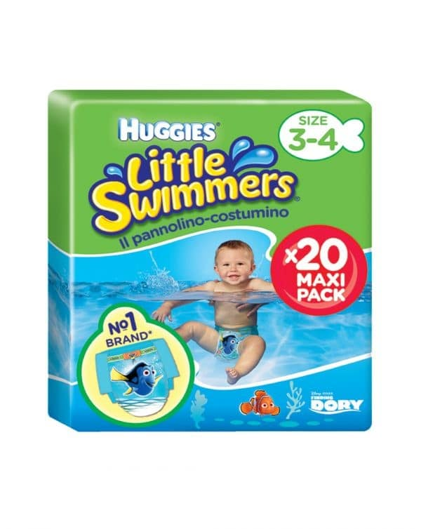 Little Swimmers taglia 3-4