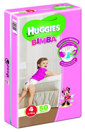 Pannolini Bimba Taglia 4 (7-18 kg)