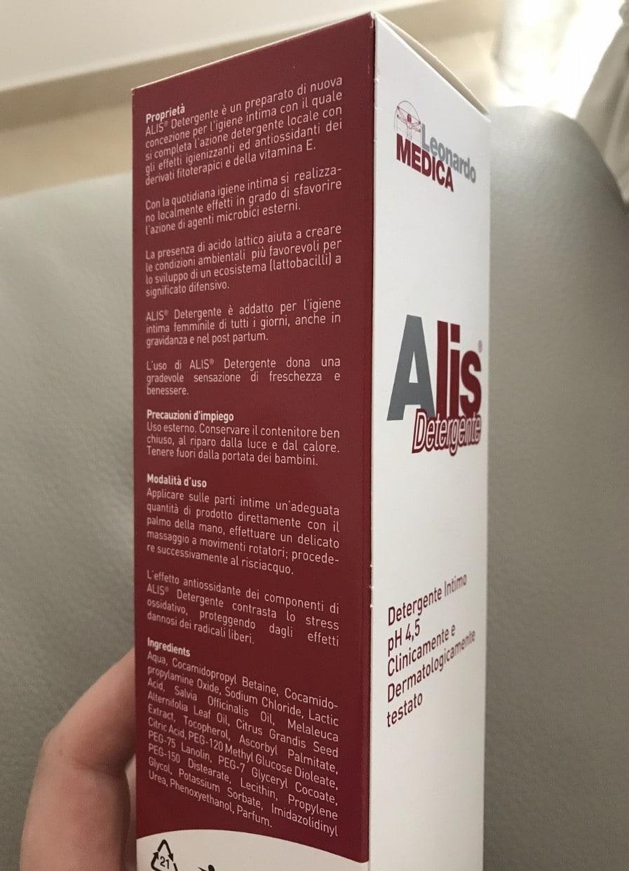 Alis detergente - confezione