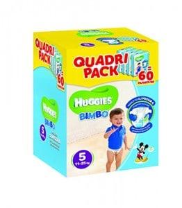 Maxi Pack - Pannolini Bimbo Taglia 5 (11-25 kg)