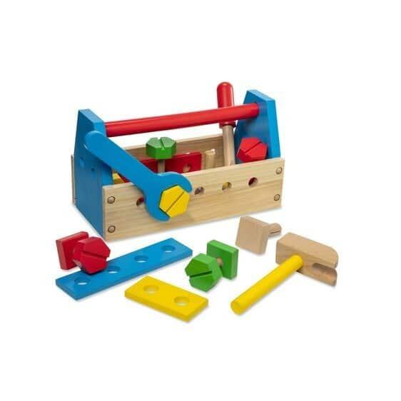 jumbo kit attrezzi in legno