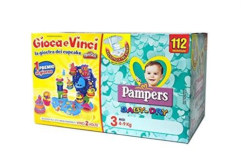 Pannolini Baby Dry Taglia 3 Midi (4-9 kg) - Quadripack da 116