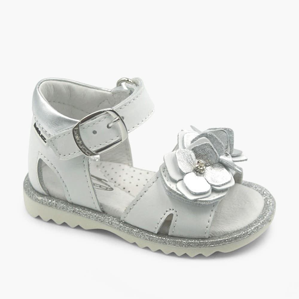 Sandalo Bianco Argento