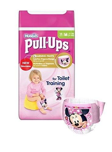 Mutandine Assorbenti Pull-Ups per Bambina Taglia M (11-18 kg)