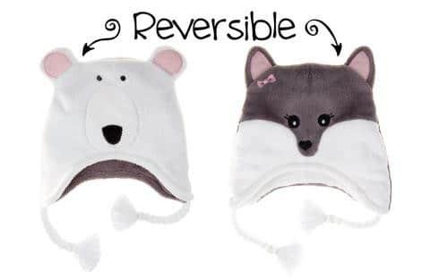 Cappello Invernale Reversibile