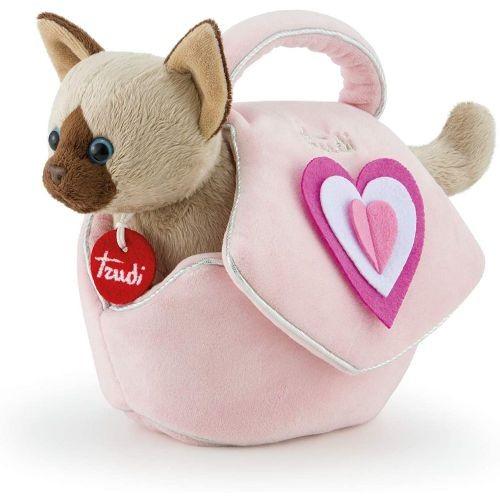 Trudi gattino borsetta cuori rosa