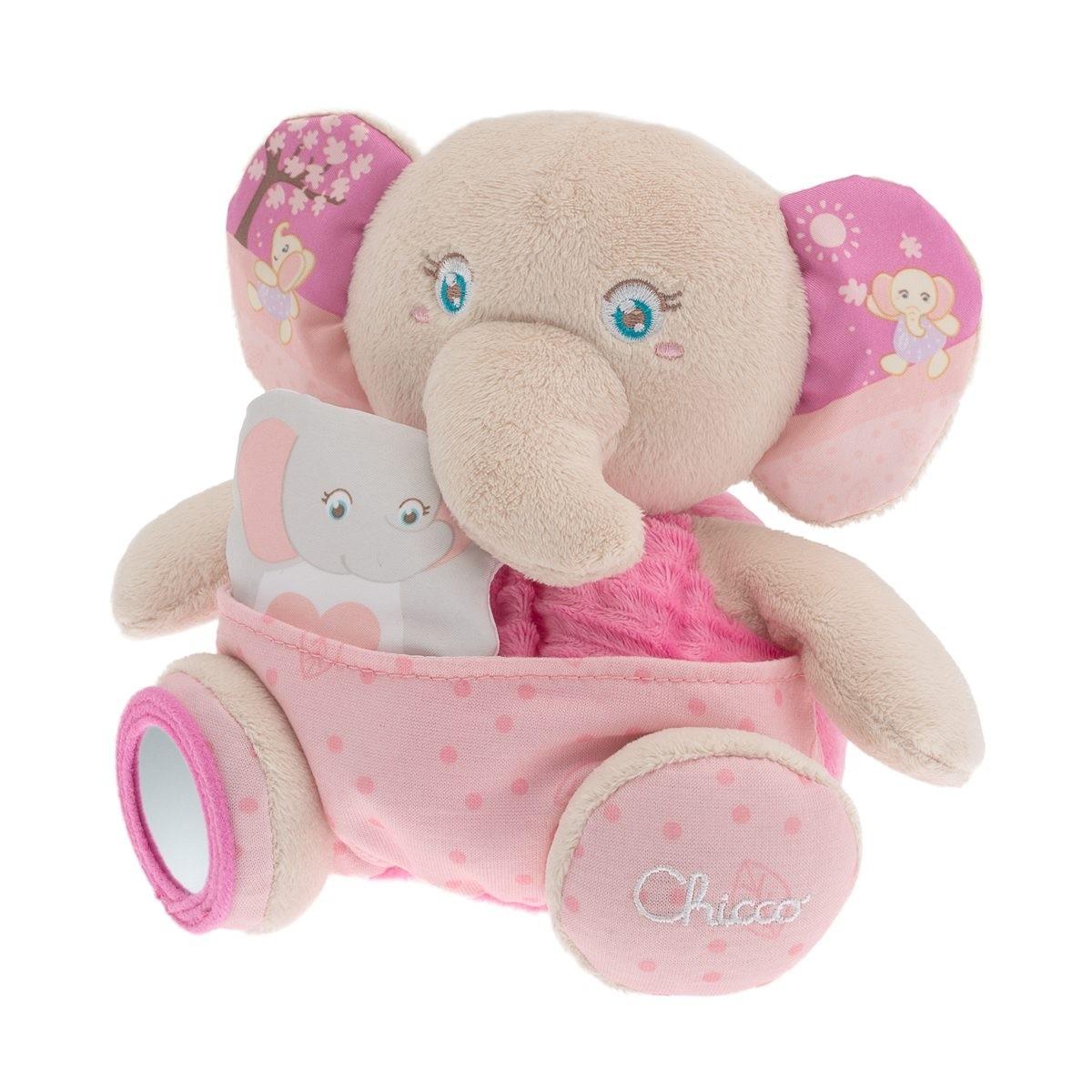 Peluche Elefante con Marionetta