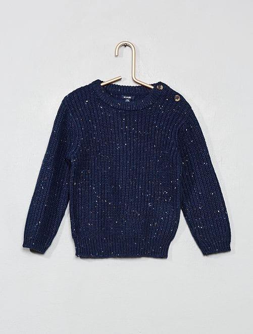 Pullover Maglia con Neps